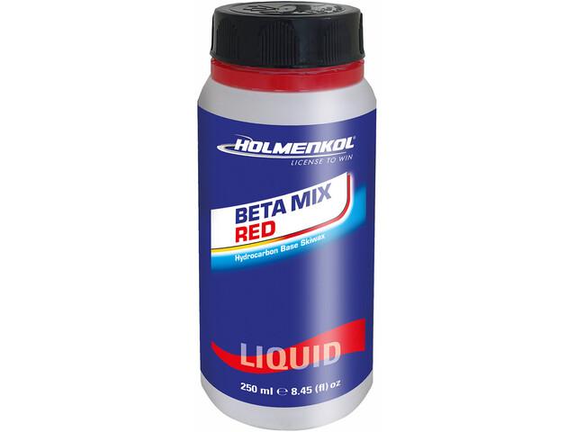 Holmenkol Betamix Red Liquid Skiwax 250ml